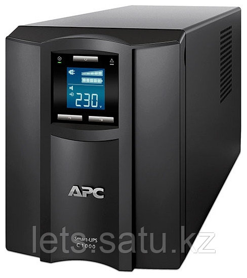 "ИБП APC Smart-UPS C 1000VA SMC1000I (Art:717095048) - Интернет-магазин ""Lets!"" в Алматы"
