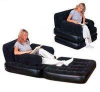 Кресло-трансформер надувное 191х97х64 см, max 227 кг,  Bestway 67277, поверхность флок