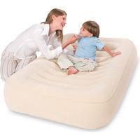 Кровать надувная детская 147х94х23 см, Bestway 67378, поверхность флок
