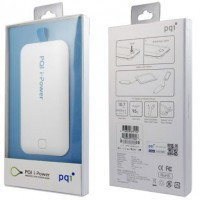 PQI Power Bank i-Power 3300, 3300mAh White/Green, вход Micro USB 5V - 1000mA