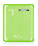 PQI Power Bank i-Power 12000S, 12000mAh Green, USB стандартный разъем