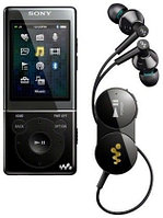 MP3 плеер Sony NWZ-E473 mp3, WMA (не DRM), WMA (DRM), AAC-LC (Не DRM), JPEG, WMV 9, 4GB, Black