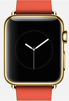Apple Watch Edition, 38 mm. / Gold Modern Buckle Bright Red