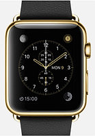 Apple Watch Edition, 42 mm. / Gold Classic Buckle Black