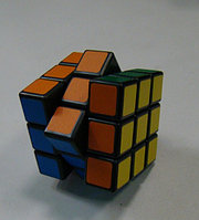 Кубик 3го порядка 3х3х3 с гранями черного и белого цветов от компании QJ, фото 1