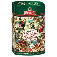 Чай черный Riston CHRISTMAS GREETINGS 125г.