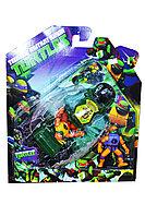 88610   Герой из м/ф черепашки ниндзя с машиной на картонке