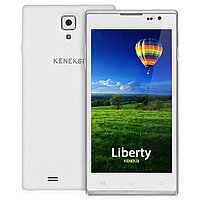 "Смартфон KENEKSI Liberty Android 4.2, поддержка двух SIM-карт, 5"", 1280x720, 8 МП, автофокус, 8 Гб, 3G, Wi-Fi, Bluetooth, GPS, White"