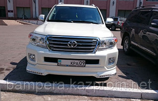 "TOYOTA LAND CRUISER 200: обвес ""Platinum Edition"""