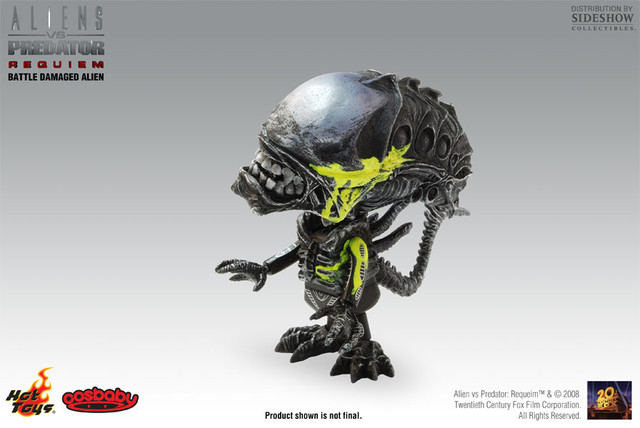 Hot Toys Mini Cosbaby ― Battle Damaged Alien