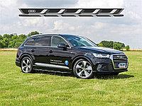 Подножки / пороги для Audi Q7 2015+