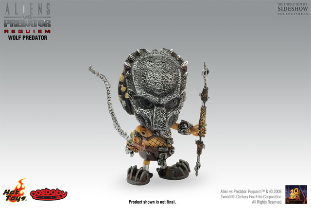 Hot Toys Mini Cosbaby ― Wolf Predator