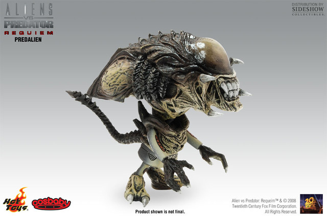 Hot Toys Mini Cosbaby ― PredAlien