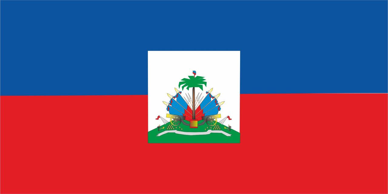 Флаг Гаити размер 1 х 2 метра.