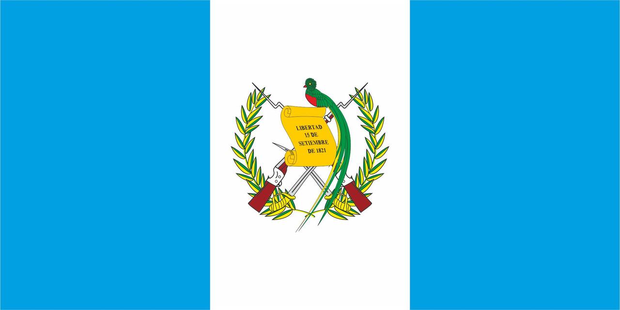 Флаг Гватемалы размер 1 х 2 метра.