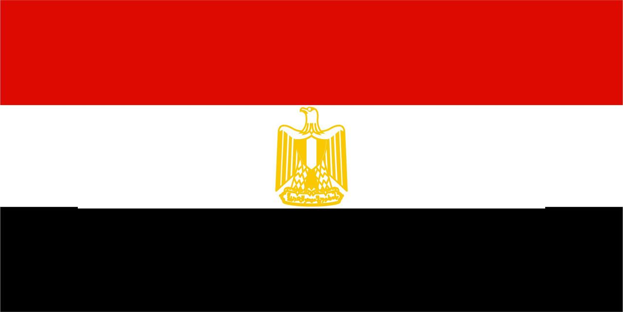 Флаг Египта размер 1 х 2 метра.