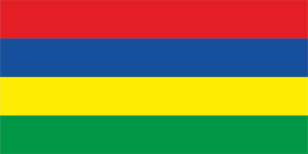Флаг Маврикий размер 1 х 2 метра.