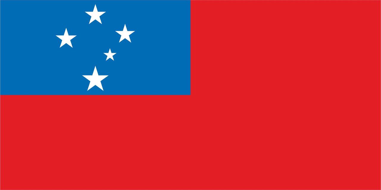 Флаг Самоа 1 х 2 метра.