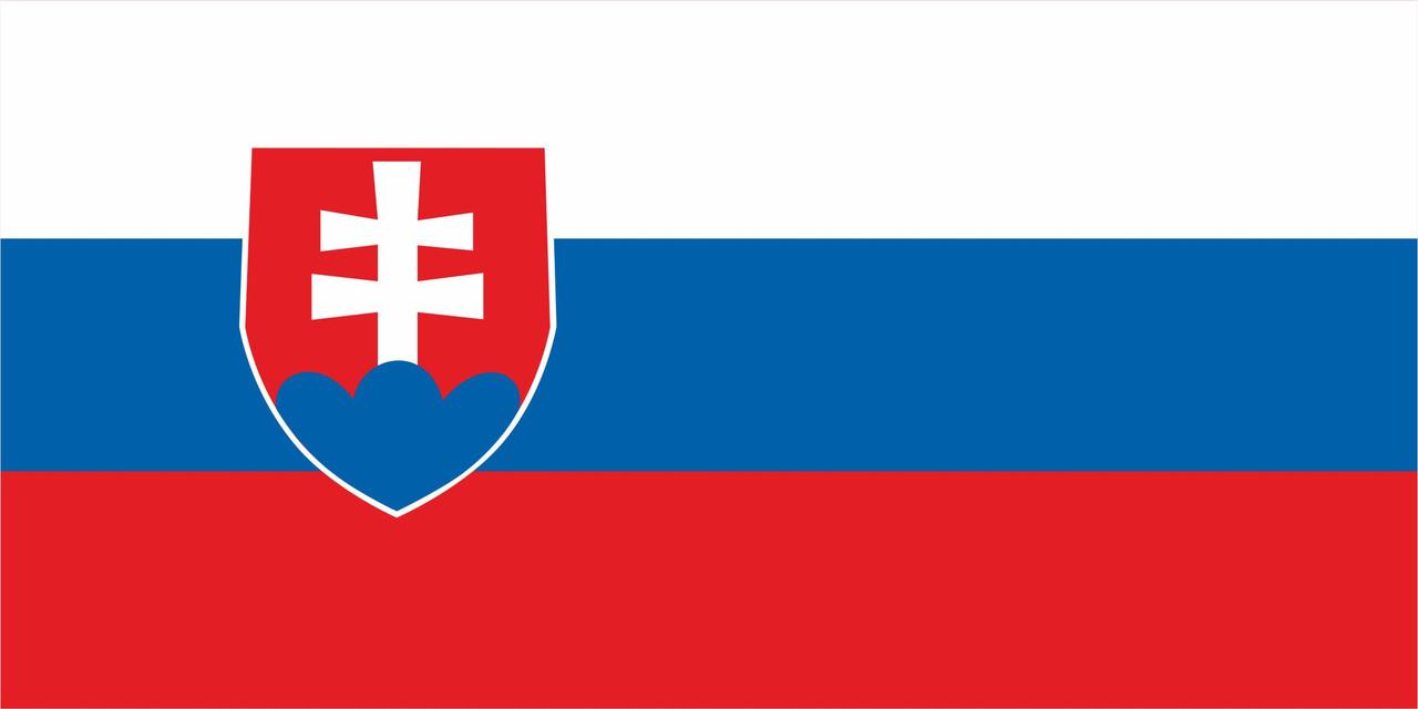 Флаг Словакии 1 х 2 метра.
