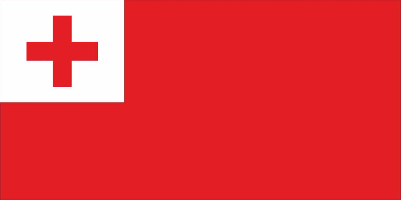 Флаг Тонга 1 х 2 метра.