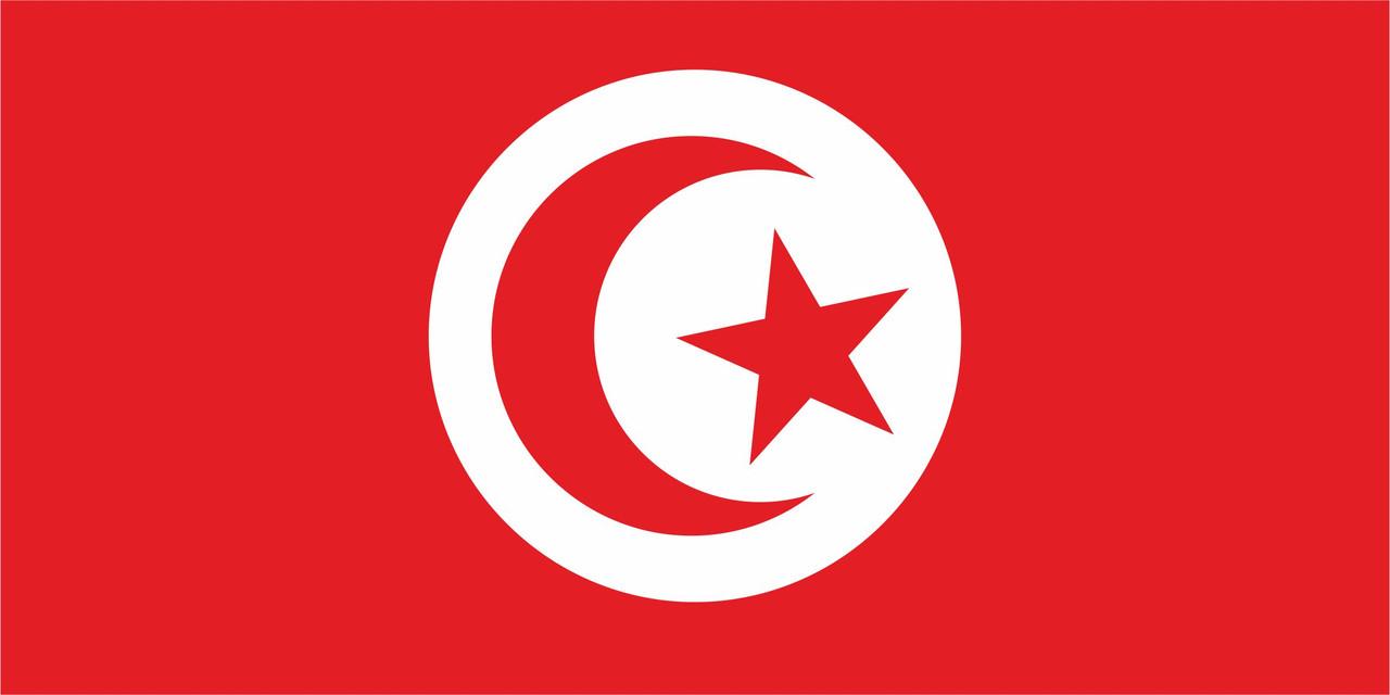 Флаг Туниса 1 х 2 метра.