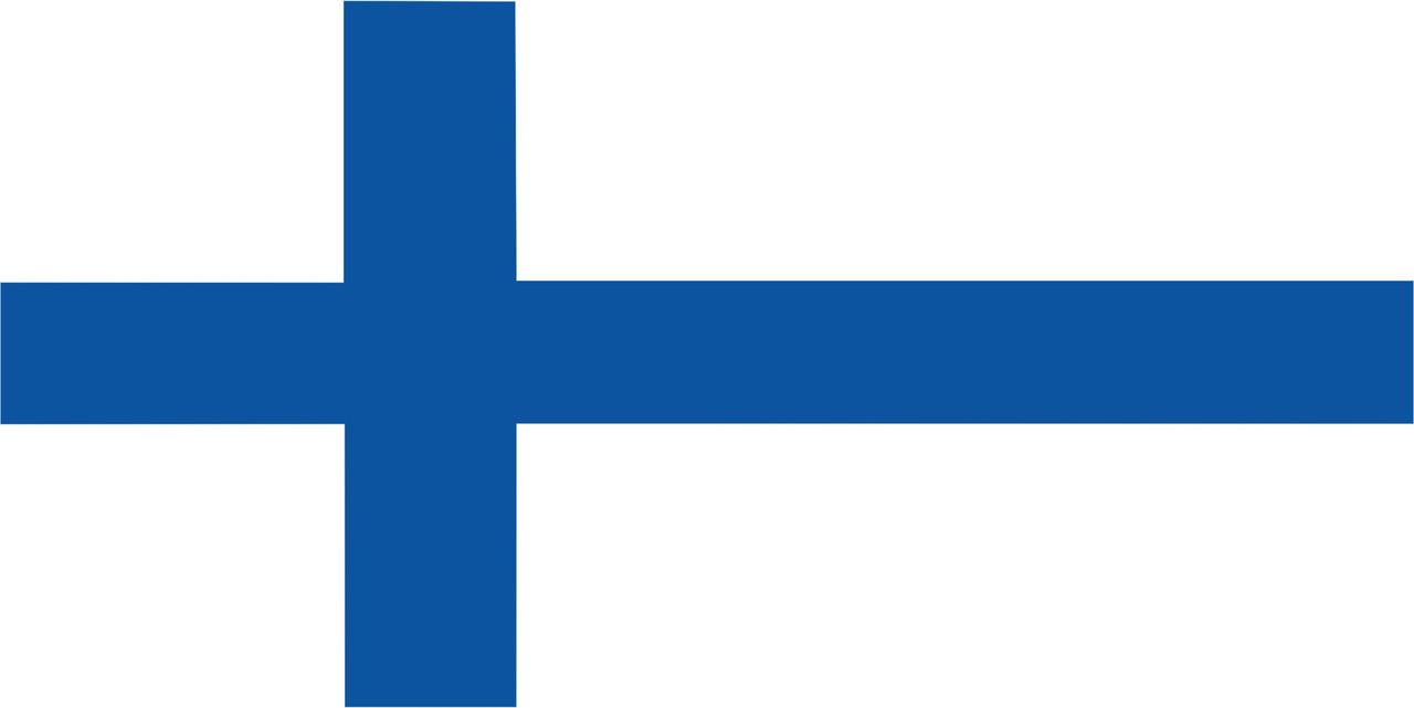 Флаг Финляндии 1 х 2 метра.