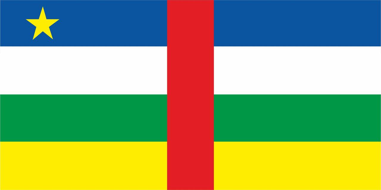 Флаг Республики Чад 1 х 2 метра.