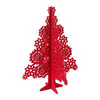 ВИНТЕР 2015 Украшение, деревья, фетр красный