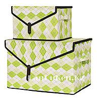 Органайзер  для хранения вещей 2 в 1, коробка для хранения