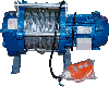 Лебедка электрическая KCD 500кг 70м 220В