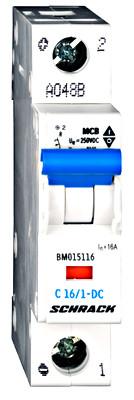 Автоматический выключатель постоянного тока 16А