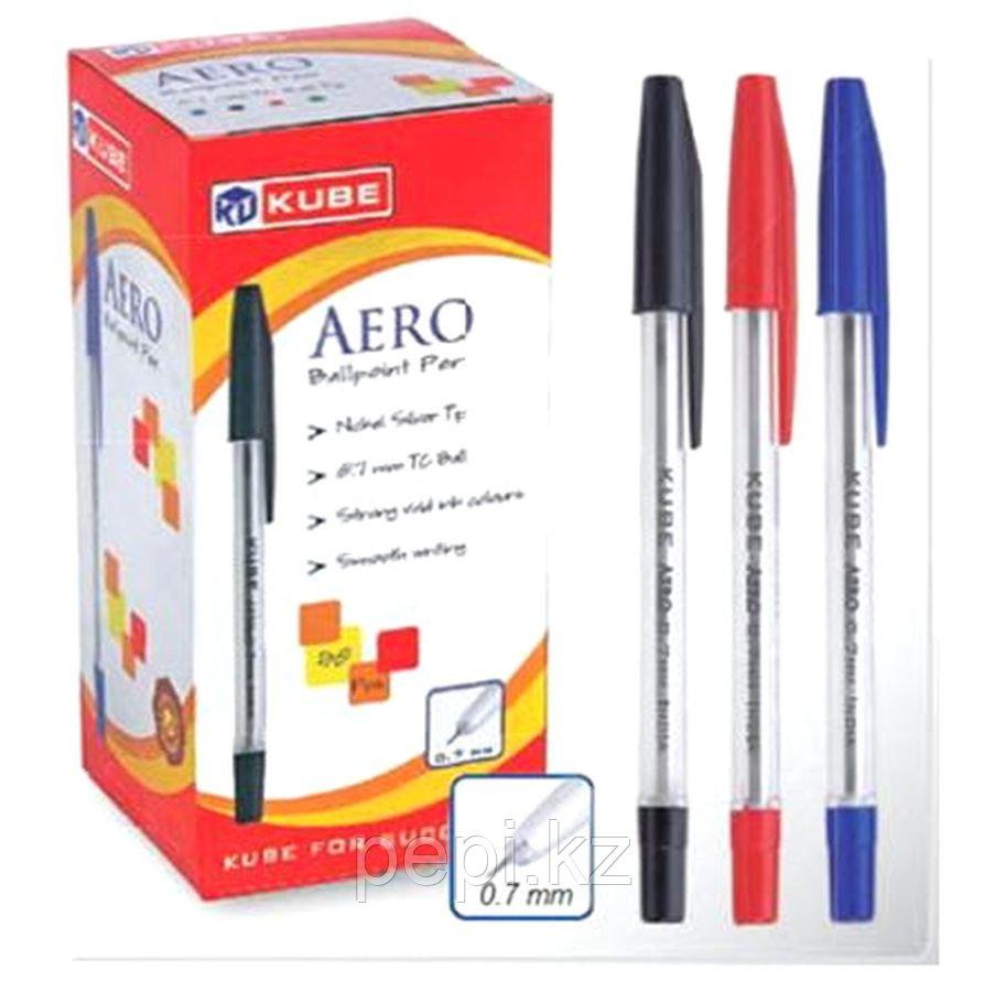 Ручка Кube Аеро, 0,7мм красная