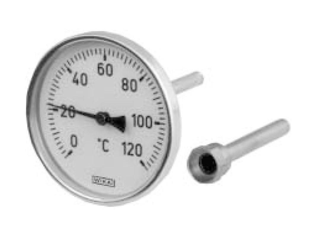 Термометр А4502  G1/2B NG 100 мм, WIKA Германия