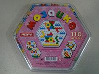 Мозаика 13 мм 110 деталей шестигр коробка