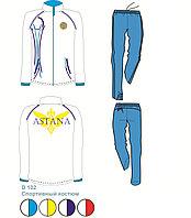 Костюм для тренировок Astana