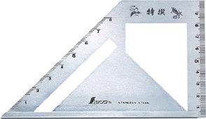 Шаблон угловой Shinwa, 163*15*5мм