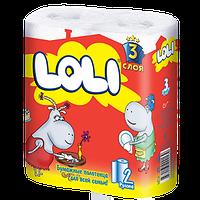 Бумажные полотенца Loli 4 рул. 3 слоя
