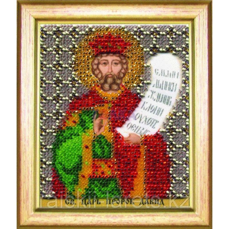 """Набор для вышивания бисером """"Икона святой царь пророк Давид"""" Б-1194"""