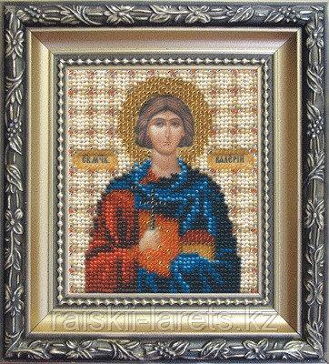 """Набор для вышивания бисером """"Икона святой мученик Валерий"""" Б-1070"""