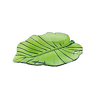 Тарелка Tropical leaf Granchio 88768, 28x25 см