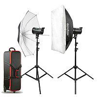 Комплект импульсного света Godox E Series(E300) Studio flash Kit