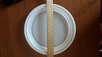 Тарелка пластиковая круглая, 20,5 см диаметр, фото 1