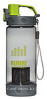 Бутылочка для воды, чая RUNRI 550 мл, емкость для воды (с заварником)