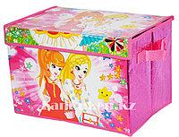 Органайзер детский для хранения вещей 38* 26* 25 см, коробка для хранения
