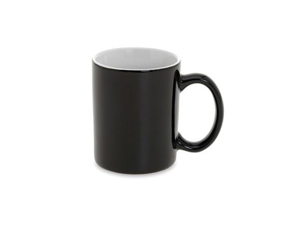 Кружка Черная: 320 ml.