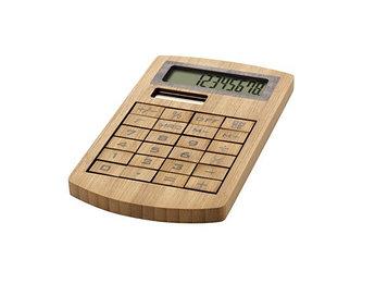 Калькулятор бамбуковый