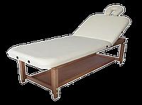 Массажный стол стационарный с деревянными ножками Dommedics Rideau