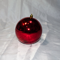 """Новогодняя игрушка на ёлку """"Шар"""" - 1 шт (10 см), фото 1"""
