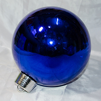 """Новогодняя игрушка украшение на ёлку """"Шар"""" - 1 шт (25 см)"""