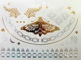 Набор временных флэш татуировок Shimmer Jewelry, фото 3
